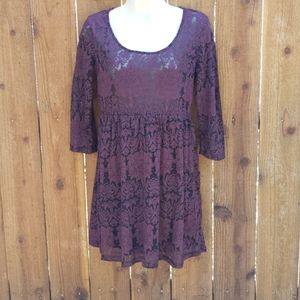 Forever 21 Lace Dress ~ Size Small